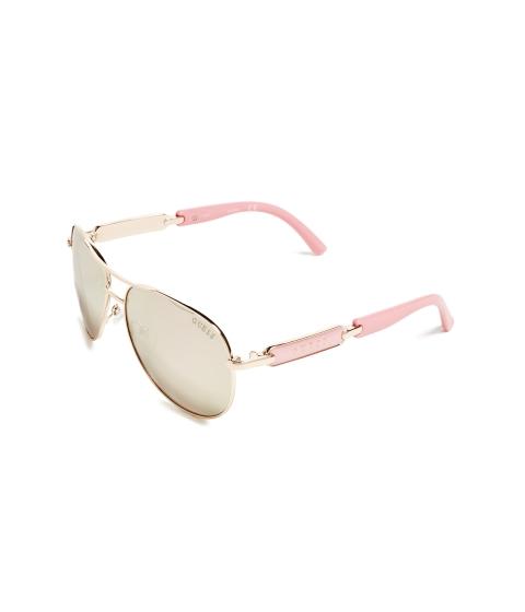 Ochelari Femei GUESS Mirrored Aviator Sunglasses cry-f cr