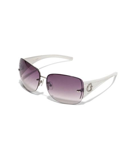 Accesorii Femei GUESS Rimless Shield Sunglasses white