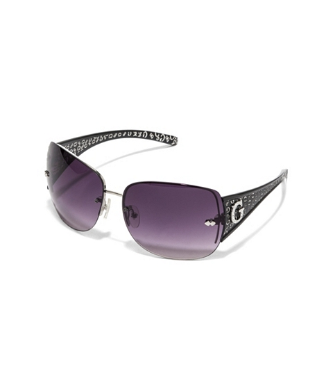 Accesorii Femei GUESS Rimless Shield Sunglasses black