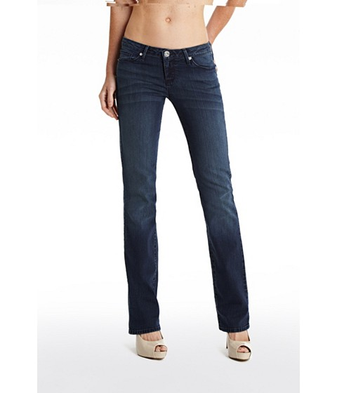 Imbracaminte Femei GUESS Grace Straight Jeans in Dark Wash dark wash