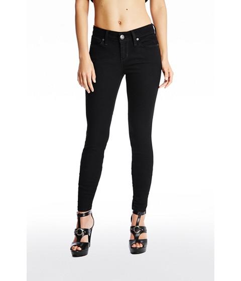 Imbracaminte Femei GUESS Sienna Curvy Skinny Jeans in Black Wash black