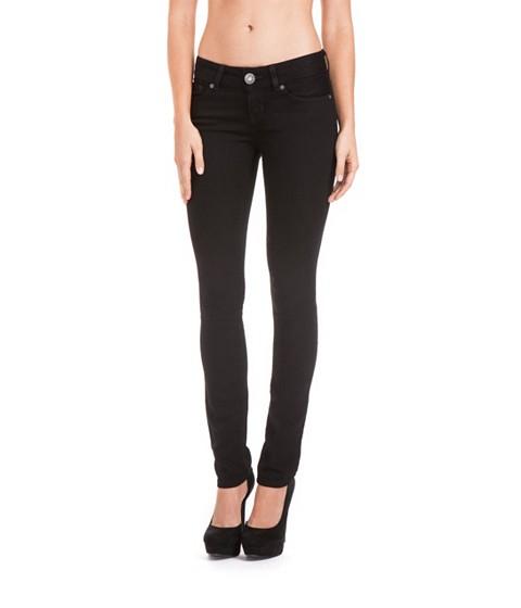 Imbracaminte Femei GUESS Sarah Skinny Jeans in Black Wash black