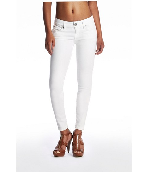 Imbracaminte Femei GUESS Sarah Skinny Jeans in White Wash white wash