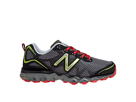 Incaltaminte Femei New Balance Womens Trail Running 710v2 Black with Red