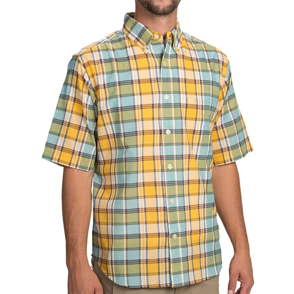 Imbracaminte Barbati Woolrich Timberline Shirt - Short Sleeve SUNGLOW (24)