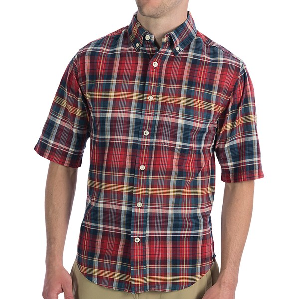 Imbracaminte Barbati Woolrich Timberline Shirt - Short Sleeve LOBSTER (10)