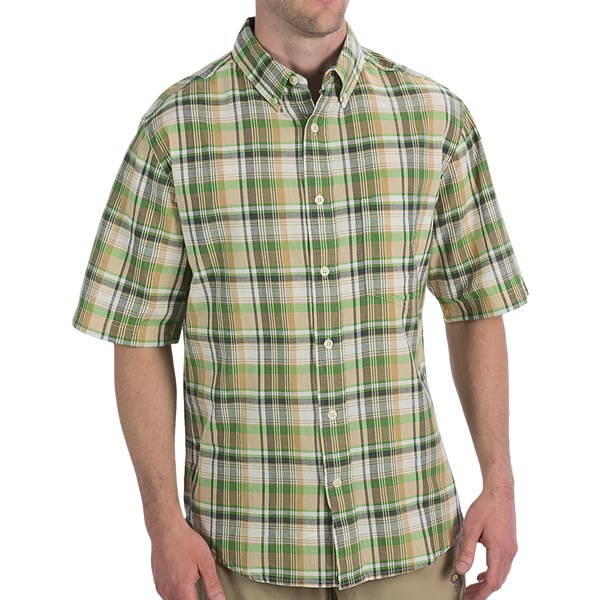 Imbracaminte Barbati Woolrich Timberline Shirt - Short Sleeve WHEAT (13)