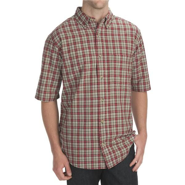 Imbracaminte Barbati Woolrich Weyland Plaid Shirt - Short Sleeve DEEP INDIGO (05)