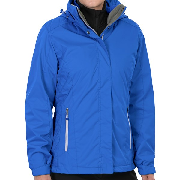 Imbracaminte Femei White Sierra Three-Seasons Jacket - 3-in-1 BLUE ICE (03)