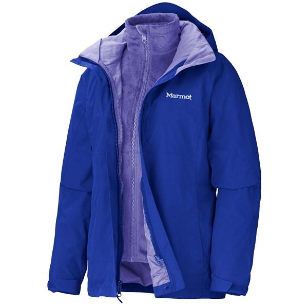 Imbracaminte Femei Marmot Katrina Component Jacket - Waterproof 3-in-1 GEM BLUE (12)
