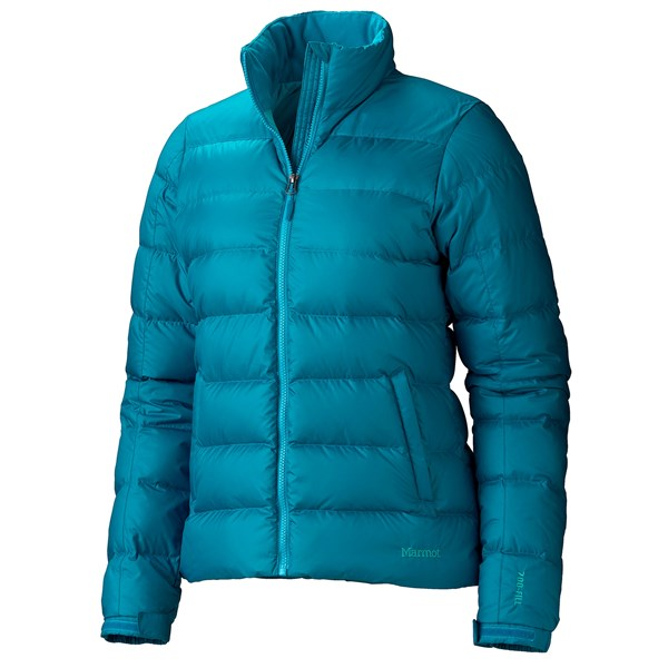 Imbracaminte Femei Marmot Guides Down Jacket - 700 Fill Power AQUA BLUE (06)