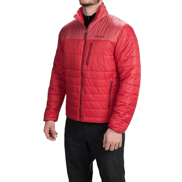 Imbracaminte Barbati Marmot Caldera Jacket - Insulated TEAM RED DARK CRIMSON (12)