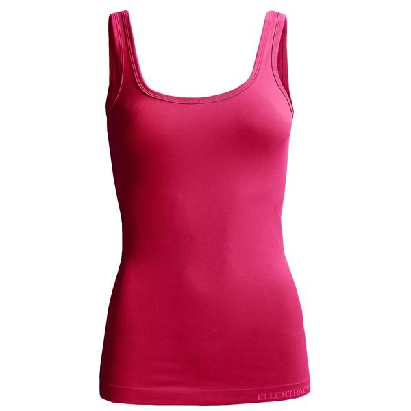 Imbracaminte Femei Ellen Tracy Seamless Sensation Logo Camisole BOYSENBERRY (09)
