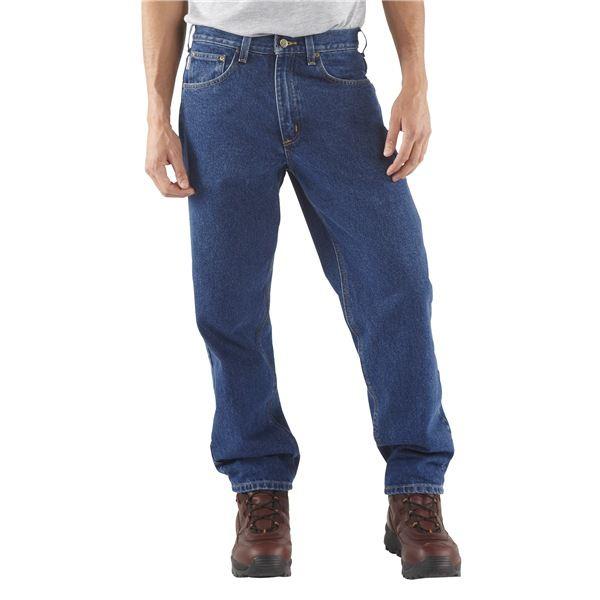 Imbracaminte Barbati Carhartt Denim Jeans - Relaxed Fit DARK STONE WASH (32)