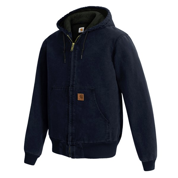 Imbracaminte Barbati Carhartt Active Jacket - Quilt-Lined (For Tall Men) MIDNIGHT (02)