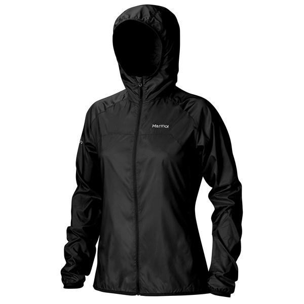 Imbracaminte Femei Marmot Trail Wind Hoodie Jacket - Water Repellent BLACK (01)