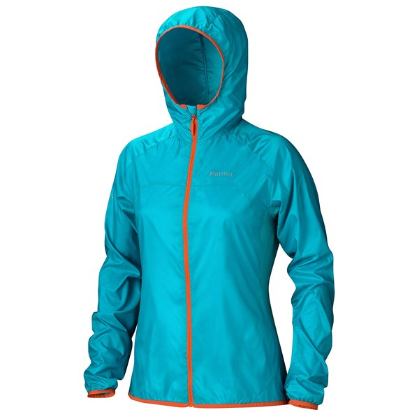 Imbracaminte Femei Marmot Trail Wind Hoodie Jacket - Water Repellent SEA GLASS (04)