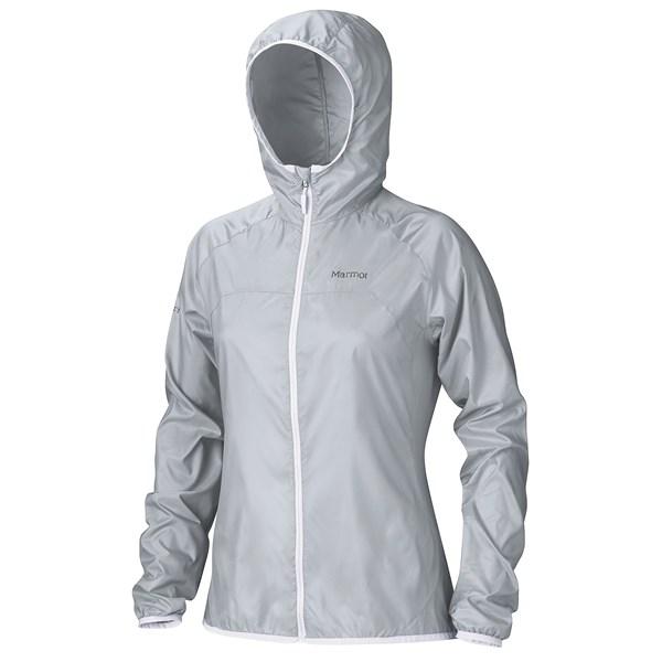 Imbracaminte Femei Marmot Trail Wind Hoodie Jacket - Water Repellent SILVER (03)