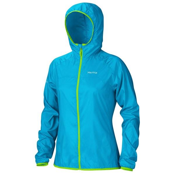 Imbracaminte Femei Marmot Trail Wind Hoodie Jacket - Water Repellent ATOMIC BLUE (02)