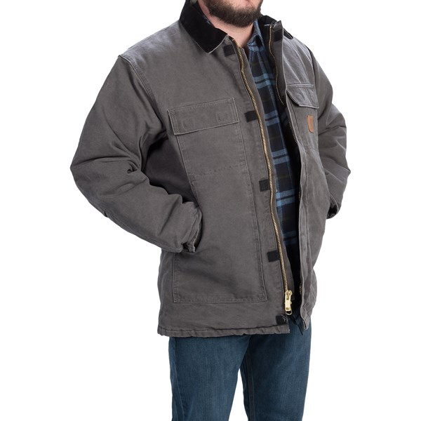 Imbracaminte Barbati Carhartt Arctic Work Coat (For Tall Men) GRAVEL (03)