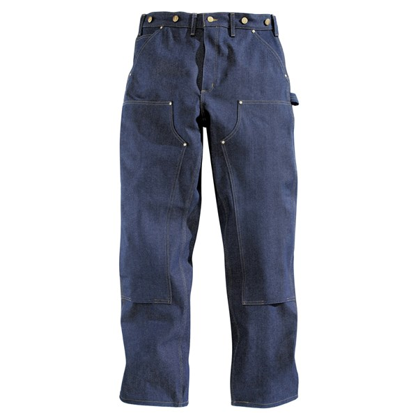 Imbracaminte Barbati Carhartt Double Front Logger Pants DENIM (08)