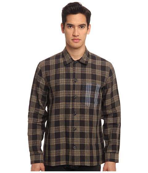 Imbracaminte Barbati Marc Jacobs Check Linen Button Up Olive