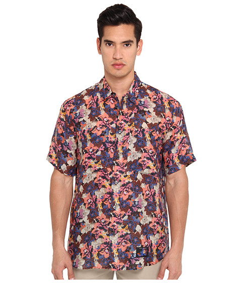 Imbracaminte Barbati Marc Jacobs Short Sleeve Tropical Floral Button Up Black