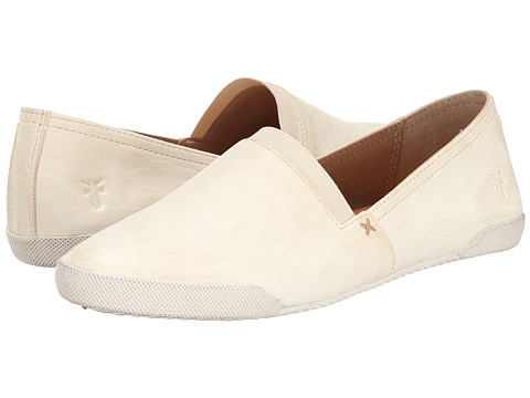 Incaltaminte Femei Frye Melanie Slip On White