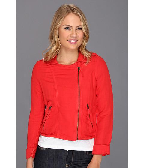 Imbracaminte Femei Lucky Brand Addisyn Moto Jacket Tomato Spice