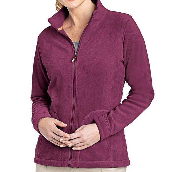 Imbracaminte Femei Woolrich Andes Fleece Jacket FIG (03)