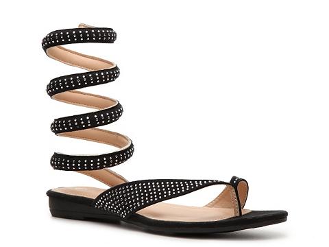 Incaltaminte Femei GC Shoes Slinky Flat Sandal Black