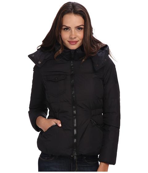 Imbracaminte Femei COACH Solid Short Down Coat No Fur Black