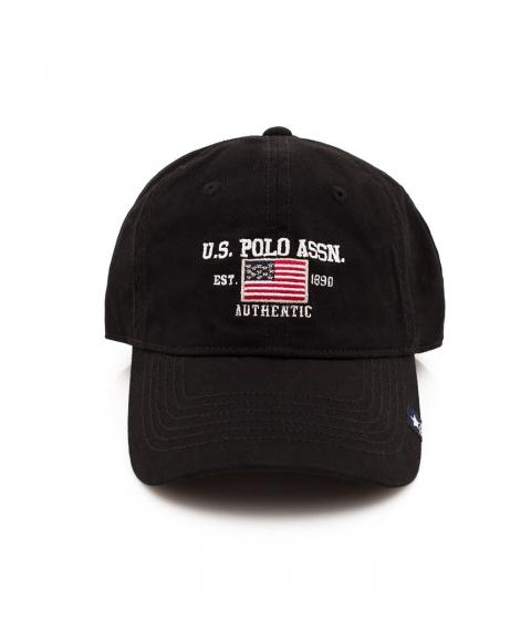 Accesorii Barbati US Polo Assn Flag Logo Baseball Hat Black
