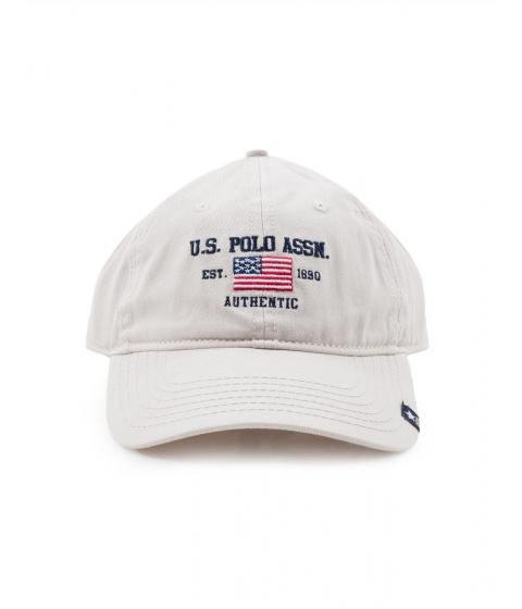 Accesorii Barbati US Polo Assn Flag Logo Baseball Hat Gray