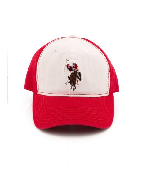 Accesorii Barbati US Polo Assn Adjacent Baseball Cap Engine Red