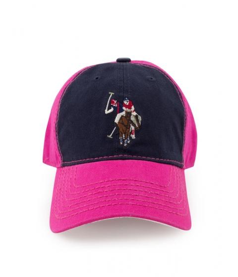 Accesorii Barbati US Polo Assn Adjacent Baseball Cap SCUBA PINK