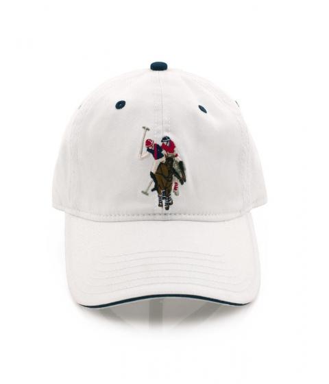Accesorii Barbati US Polo Assn USPA Logo Cap White