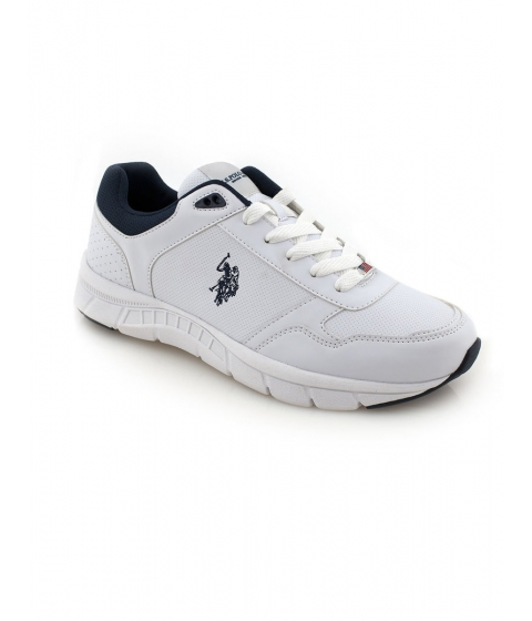 Incaltaminte Barbati US Polo Assn Racer Sneaker White