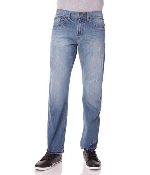 Imbracaminte Barbati US Polo Assn Slim Straight Fit Small Logo Jean Light Wash Blue