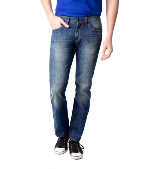 Imbracaminte Barbati US Polo Assn Slim Straight Fit Flapback Jean Blue