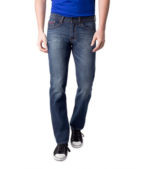 Imbracaminte Barbati US Polo Assn Slim Straight Fit Red Pocket Jean Blue