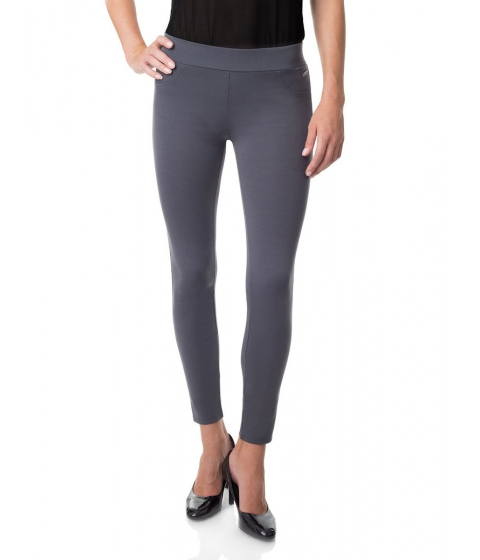 Imbracaminte Femei US Polo Assn Alexis Ponte Skinny Pant Heather Charcoal
