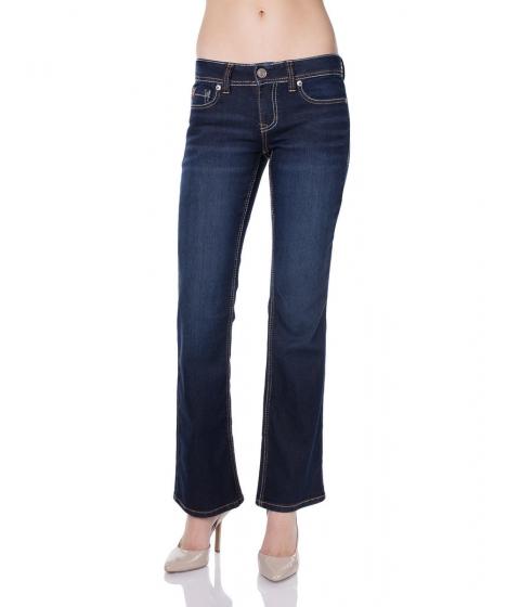 Imbracaminte Femei US Polo Assn CASSIDY BOOT FIT JEAN SUPER DARK WASH Blue