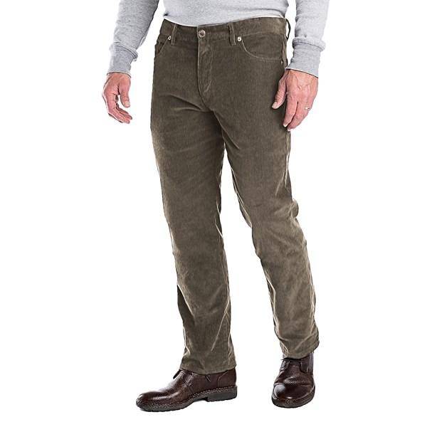 Imbracaminte Barbati Woolrich 1830 Corduroy Jeans - 5-Pocket OLIVE (03)
