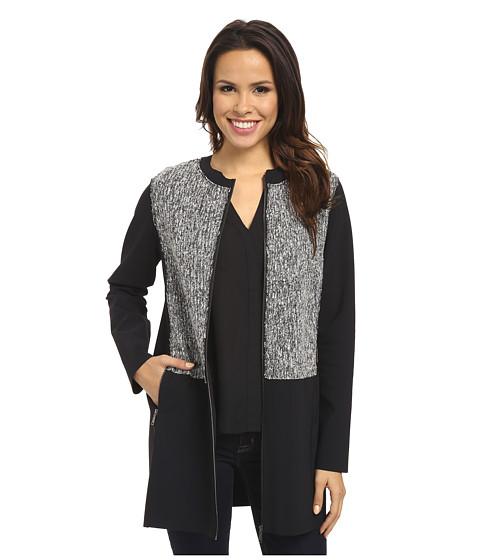 Imbracaminte Femei Elie Tahari Melody Coat BlackWhite