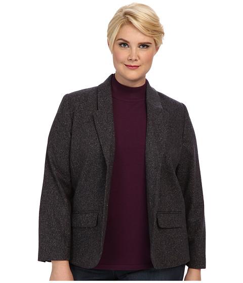 Imbracaminte Femei Pendleton Plus Size Donegal Tweed Tarrington Jacket Navy Donegal