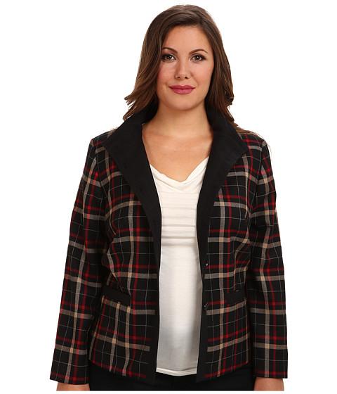 Imbracaminte Femei Pendleton Plus Size Helena Jacket BlackCamelRed WF Plaid