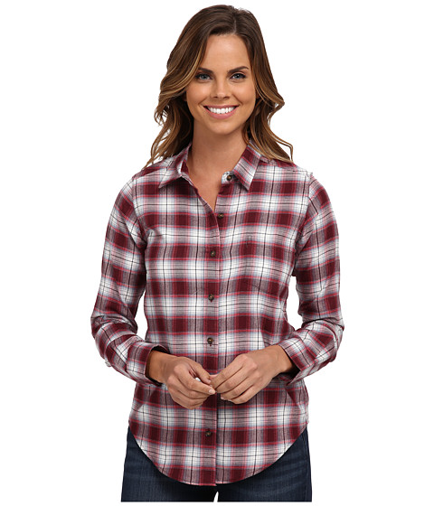 Imbracaminte Femei Pendleton Felicia Flannel Shirt Windsor WineHeather Plaid