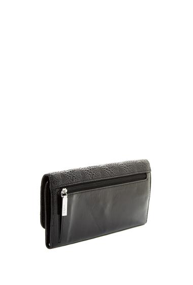 Accesorii Femei Hobo Vintage Sadie Trifold Leather Wallet EMBOSSED BLACK
