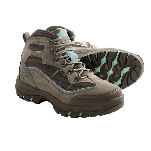 Incaltaminte Femei Hi-Tec Hi-Tec Skamania Hiking Boots - Waterproof Suede TAUPESMOKY BROWNMINT (02)